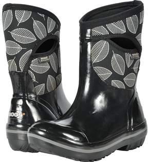 Bogs Plimsoll Leafy Mid Women's Boots