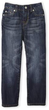 7 For All Mankind Toddler Boys) Dark Wash Standard Straight Leg Jeans