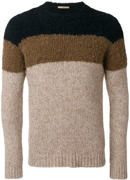 Nuur tri-tone sweater