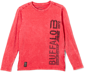 Buffalo David Bitton Cranberry Logo Hellix Sweater - Boys