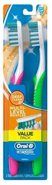 Oral-B Complete Deep Clean Soft Bristle Manual Toothbrush - 2ct