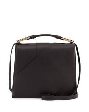 Jason Wu Charlotte Origami Leather Handbag, Black