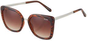 Quay Capricorn Square Plastic/Metal Sunglasses