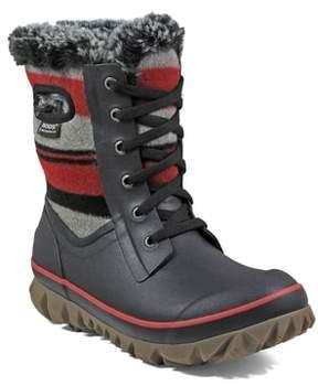 Bogs Women's Arcata Stripe Waterproof Snow Boot
