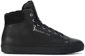 Billionaire lace-up hi-top sneakers