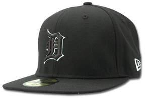 New Era Kids' Detroit Tigers Mlb Black and White Fashion 59FIFTY Cap