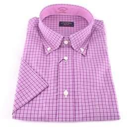 Paul & Shark Men's Pink Cotton Shirt.