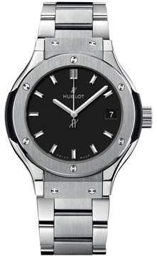 Hublot 581.nx.1171.nx Classic Fusion Quartz Titanium 33mm Mens Watch