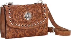 American West Harvest Moon Small Cross Body Bag/Wallet (Women's)