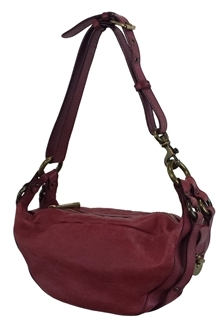 Marc Jacobs Dark Berry Leather Katie Bag - RED - STYLE