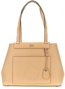 Michael Kors Meredith Medium East/West Bonded Leather Tote- Butternut - ONE COLOR - STYLE