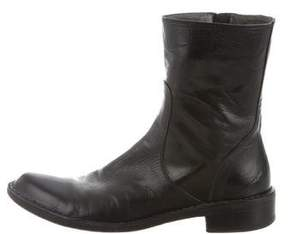 Rocco P. Round-Toe Ankle Boots