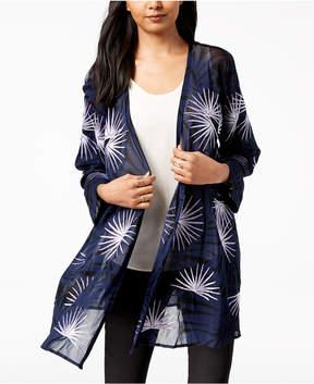 Alfani Embroidered Kimono, Created for Macy's