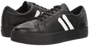Neil Barrett Paint Stripe Nappa Trainer Men's Shoes