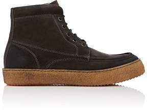 Barneys New York MEN'S CREPE-SOLE SUEDE BOOTS