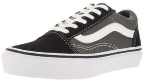 Vans Kids Old Skool Blk/Pewter Skate Shoe 10.5 Kids US
