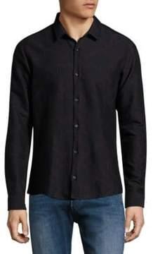 HUGO Geometric Print Slim-Fit Shirt