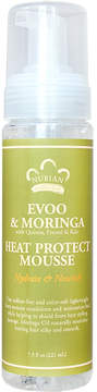 Nubian Heritage Evoo + Moringa Heat Protect Mousse by 7.5floz Mousse)