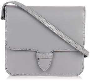 Alaia Grey small satchel