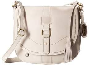 Børn Distressed Leather Saddle Bag