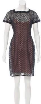 Alaia Lace Mini Dress