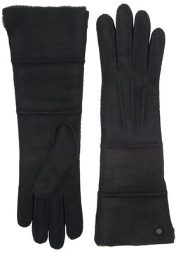 UGG Long Pieced Sheepskin Gloves with Slim Pile Extreme Cold Weather Gloves