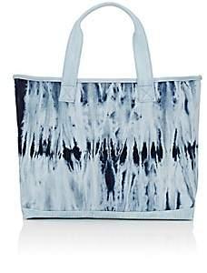 Barneys New York Women's Shibori-Style Tie-Dyed Tote Bag-Blue