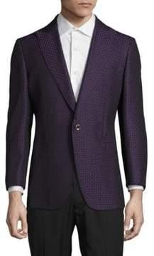 Robert Graham Geometric Wool-Blend Jacket