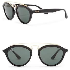 Ray-Ban Phantos 50mm Browbar Sunglasses