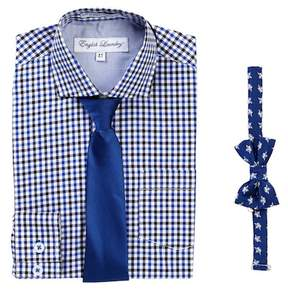 English Laundry Dress Shirt & Ties Set (Little Boys)