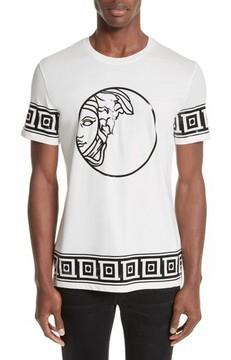 Men's Versace Collection Tonal Medusa Print T-Shirt