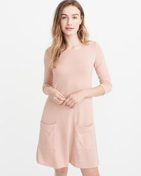 Abercrombie & Fitch Cozy Swing Dress