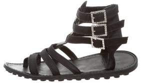 Sonia Rykiel Multistrap Buckle Sandals
