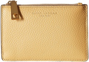 Marc Jacobs Recruit Top Zip Multi Wallet Wallet Handbags - GOLDEN BEIGE - STYLE