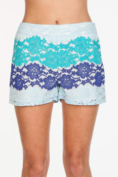 Everly Beachy Blue Shorts