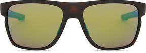 Oakley Oo9360 58 Crossrange square-frame mirror lens sunglasses