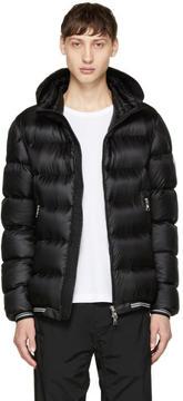 Moncler Black Down Jeanbart Jacket