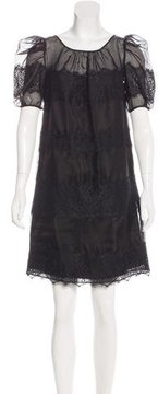 ALICE by Temperley Lace Mini Dress