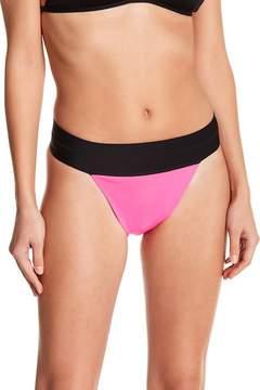 Ashley Graham Wearing Leopard and Pink Bikini