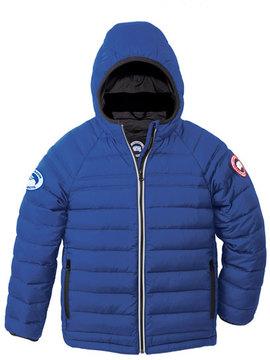 Canada Goose Sherwood Hooded Puffer Jacket, Royal Blue, Size XS (6-7)-XL(12-14)