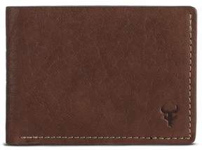 Trask Men's Jackson Super Slim Wallet - Brown