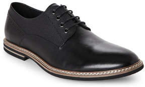 English Laundry Black Buckhurst Plain Toe Derby Shoes