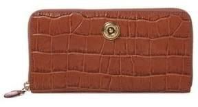 Lauren Ralph Lauren Medium Leather Crocodile-Embossed Wallet