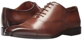 Matteo Massimo Laser Bal Cap Men's Lace Up Cap Toe Shoes