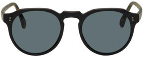 Raen Black and Tortoiseshell Remmy Sunglasses
