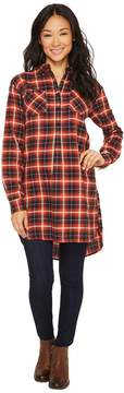 Burton Grace Flannel Tunic Women's Blouse