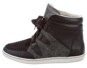 Sandro Leather Amandine Sneakers