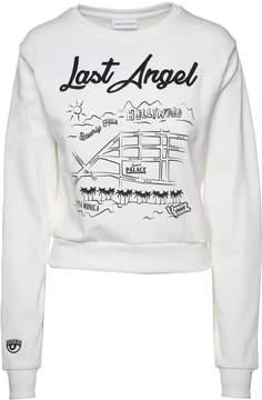 Chiara Ferragni Last Angel Cotton-jersey Sweatshirt