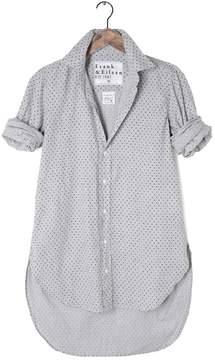 Frank And Eileen Womens Grayson Italian Twill Polka Dot Shirt