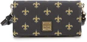 Dooney & Bourke NFL New Orleans Saints Daphne Cross-Body Bag - BLACK - STYLE